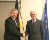 Le Prix Sakharov 2006 à M. Alexandre Milinkievitch, chef de l'opposition démocratique en Biélorussie