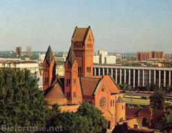 Minsk – L'église catholique de Sainte Hélène (XXème s.)